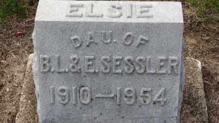 SESSLER, ELSIE - Erie County, Ohio   ELSIE SESSLER - Ohio Gravestone Photos