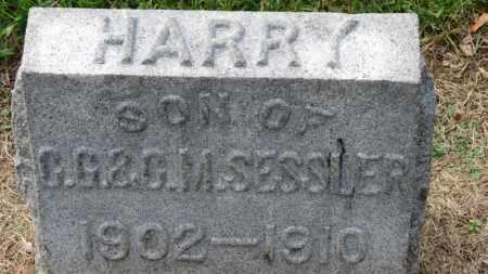 SESSLER, HARRY - Erie County, Ohio | HARRY SESSLER - Ohio Gravestone Photos