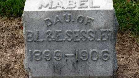 SESSLER, MABEL - Erie County, Ohio | MABEL SESSLER - Ohio Gravestone Photos