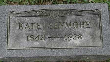 SEYMORE, KATE - Erie County, Ohio   KATE SEYMORE - Ohio Gravestone Photos