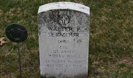 SEYMOUR, WALTER F. - Erie County, Ohio | WALTER F. SEYMOUR - Ohio Gravestone Photos