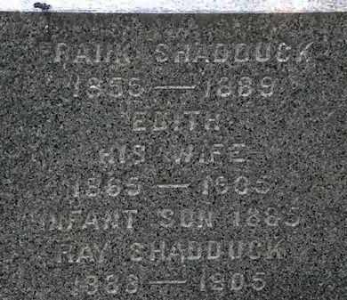 SHADDUCK, FRANK - Erie County, Ohio | FRANK SHADDUCK - Ohio Gravestone Photos