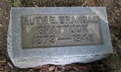 BRANDAU SHATTUCK, RUTH E. - Erie County, Ohio | RUTH E. BRANDAU SHATTUCK - Ohio Gravestone Photos