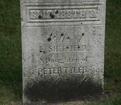 TYLER, PETER - Erie County, Ohio | PETER TYLER - Ohio Gravestone Photos