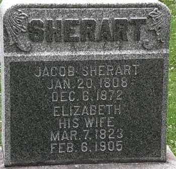 SHERART, JACOB - Erie County, Ohio | JACOB SHERART - Ohio Gravestone Photos