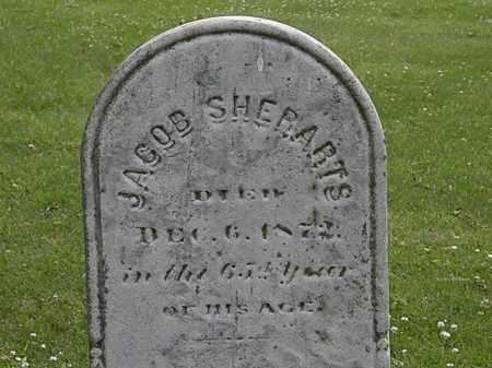 SHERARTS, JACOB - Erie County, Ohio   JACOB SHERARTS - Ohio Gravestone Photos