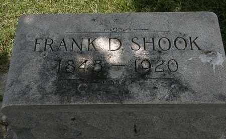 SHOOK, FRANK D. - Erie County, Ohio | FRANK D. SHOOK - Ohio Gravestone Photos