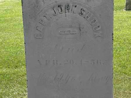 SHOOK, JOHN - Erie County, Ohio | JOHN SHOOK - Ohio Gravestone Photos