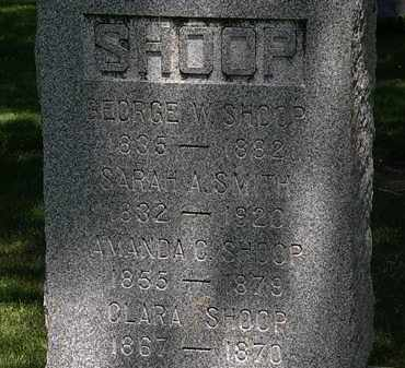 SHOOP, GEORGE - Erie County, Ohio | GEORGE SHOOP - Ohio Gravestone Photos