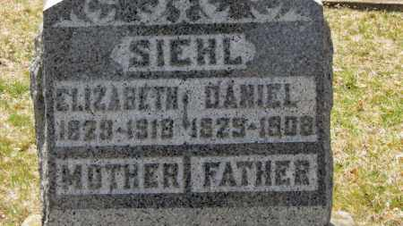 SIEHL, DANIEL - Erie County, Ohio | DANIEL SIEHL - Ohio Gravestone Photos