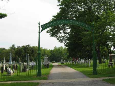SIGN, ENTRANCE - Erie County, Ohio | ENTRANCE SIGN - Ohio Gravestone Photos