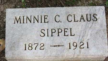 CLAUS SIPPLE, MINNIE C. - Erie County, Ohio | MINNIE C. CLAUS SIPPLE - Ohio Gravestone Photos