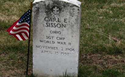 SISSON, CARL E. - Erie County, Ohio | CARL E. SISSON - Ohio Gravestone Photos