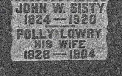 SISTY, JOHN W. - Erie County, Ohio | JOHN W. SISTY - Ohio Gravestone Photos