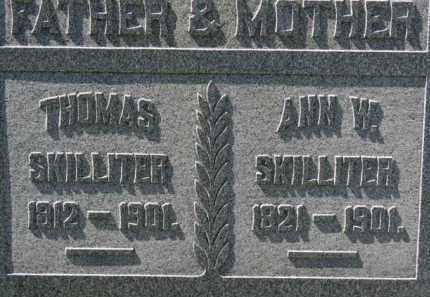 SKILLITER, THOMAS - Erie County, Ohio | THOMAS SKILLITER - Ohio Gravestone Photos