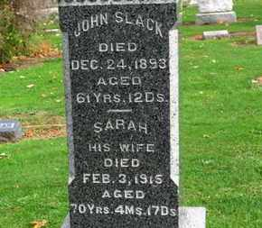 SLCAK, SARAH - Erie County, Ohio | SARAH SLCAK - Ohio Gravestone Photos