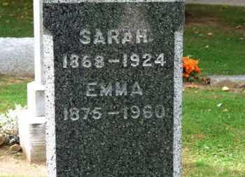 SLACK, SARAH - Erie County, Ohio   SARAH SLACK - Ohio Gravestone Photos