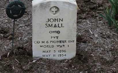 SMALL, JOHN - Erie County, Ohio | JOHN SMALL - Ohio Gravestone Photos