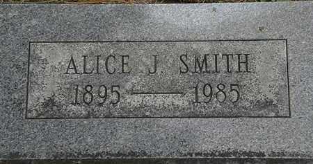SMITH, ALICE J. - Erie County, Ohio   ALICE J. SMITH - Ohio Gravestone Photos
