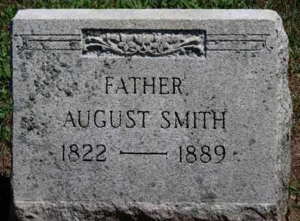 SMITH, AUGUST - Erie County, Ohio | AUGUST SMITH - Ohio Gravestone Photos