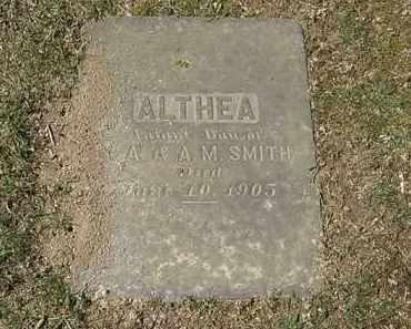 SMITH, ALTHEA - Erie County, Ohio | ALTHEA SMITH - Ohio Gravestone Photos