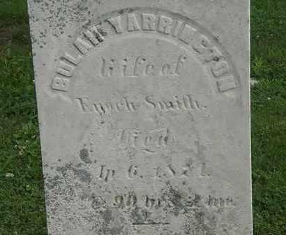 SMITH, BULAH - Erie County, Ohio | BULAH SMITH - Ohio Gravestone Photos