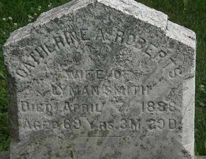 ROBERTS SMITH, CATHERINE A. - Erie County, Ohio | CATHERINE A. ROBERTS SMITH - Ohio Gravestone Photos