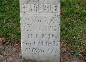 SMITH, CARLISLE - Erie County, Ohio | CARLISLE SMITH - Ohio Gravestone Photos
