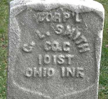 SMITH, CORP'L  C.L. - Erie County, Ohio | CORP'L  C.L. SMITH - Ohio Gravestone Photos