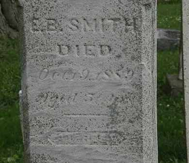 SMITH, E.B. - Erie County, Ohio | E.B. SMITH - Ohio Gravestone Photos