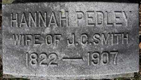 SMITH, HANNAH - Erie County, Ohio | HANNAH SMITH - Ohio Gravestone Photos