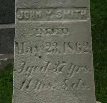 SMITH, JOHN Y. - Erie County, Ohio | JOHN Y. SMITH - Ohio Gravestone Photos