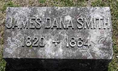 SMITH, JAMES DANA - Erie County, Ohio | JAMES DANA SMITH - Ohio Gravestone Photos