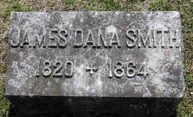 SMITH, JAMES DANA - Erie County, Ohio | JAMES DANA SMITH - Ohio Gravestone Photos