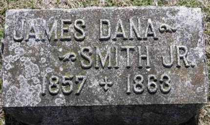 SMITH, JAMES DANA JR. - Erie County, Ohio   JAMES DANA JR. SMITH - Ohio Gravestone Photos