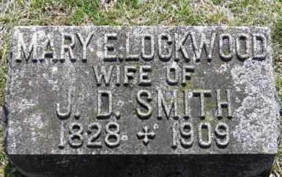 LOCKWOOD SMITH, MARY E. - Erie County, Ohio | MARY E. LOCKWOOD SMITH - Ohio Gravestone Photos