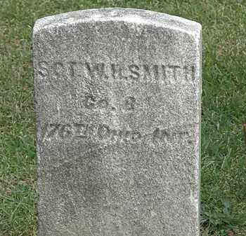 SMITH, SGT. W. H. - Erie County, Ohio | SGT. W. H. SMITH - Ohio Gravestone Photos