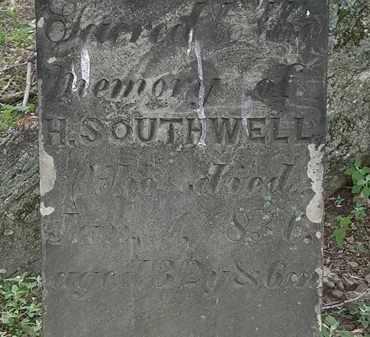 SOUTHWELL, H.S. - Erie County, Ohio | H.S. SOUTHWELL - Ohio Gravestone Photos