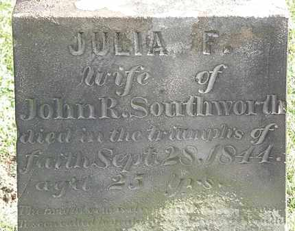 SOUTHWORTH, JOHN R. - Erie County, Ohio | JOHN R. SOUTHWORTH - Ohio Gravestone Photos