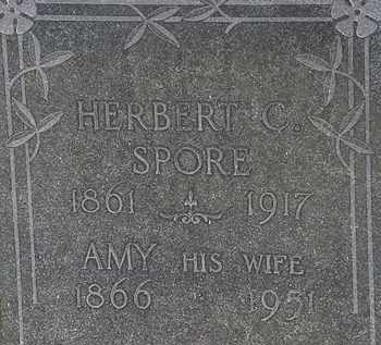 SPORE, HERBERT C. - Erie County, Ohio | HERBERT C. SPORE - Ohio Gravestone Photos
