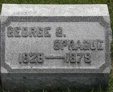 SPRAGUE, GEORGE S. - Erie County, Ohio   GEORGE S. SPRAGUE - Ohio Gravestone Photos