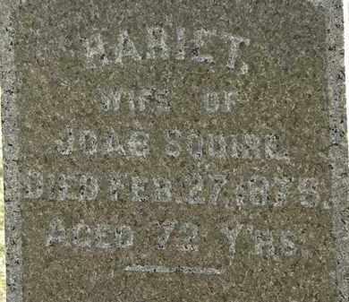 SQUIRE, HARIET - Erie County, Ohio   HARIET SQUIRE - Ohio Gravestone Photos