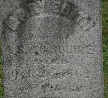 SQUIRE, C. - Erie County, Ohio | C. SQUIRE - Ohio Gravestone Photos