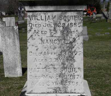 SQUIRES, WILLIAM - Erie County, Ohio | WILLIAM SQUIRES - Ohio Gravestone Photos
