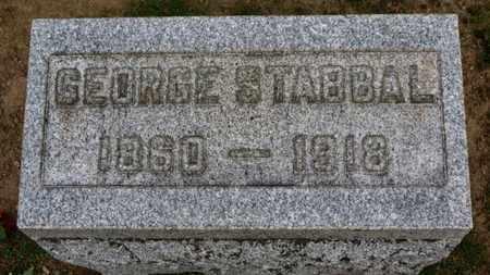 STABBAL, GEORGE - Erie County, Ohio | GEORGE STABBAL - Ohio Gravestone Photos
