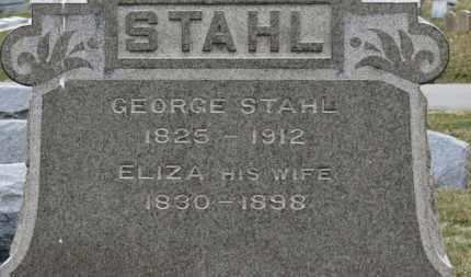 STAHL, GEORGE - Erie County, Ohio | GEORGE STAHL - Ohio Gravestone Photos
