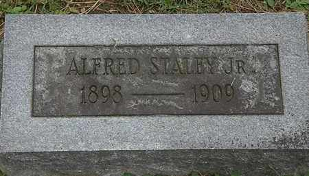 STALEY, ALFRED JR. - Erie County, Ohio   ALFRED JR. STALEY - Ohio Gravestone Photos