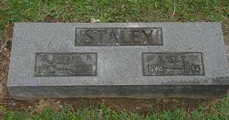 STALEY, ALFRED - Erie County, Ohio | ALFRED STALEY - Ohio Gravestone Photos