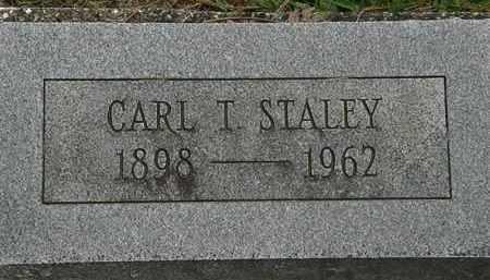 STALEY, CARL T. - Erie County, Ohio   CARL T. STALEY - Ohio Gravestone Photos