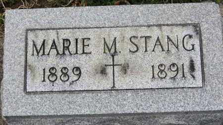 STANG, MARIE M. - Erie County, Ohio | MARIE M. STANG - Ohio Gravestone Photos